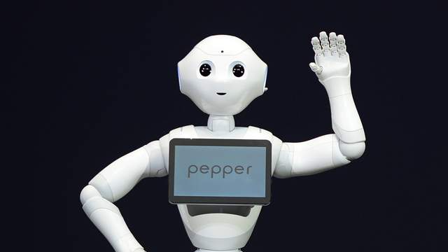 Pepper on stage