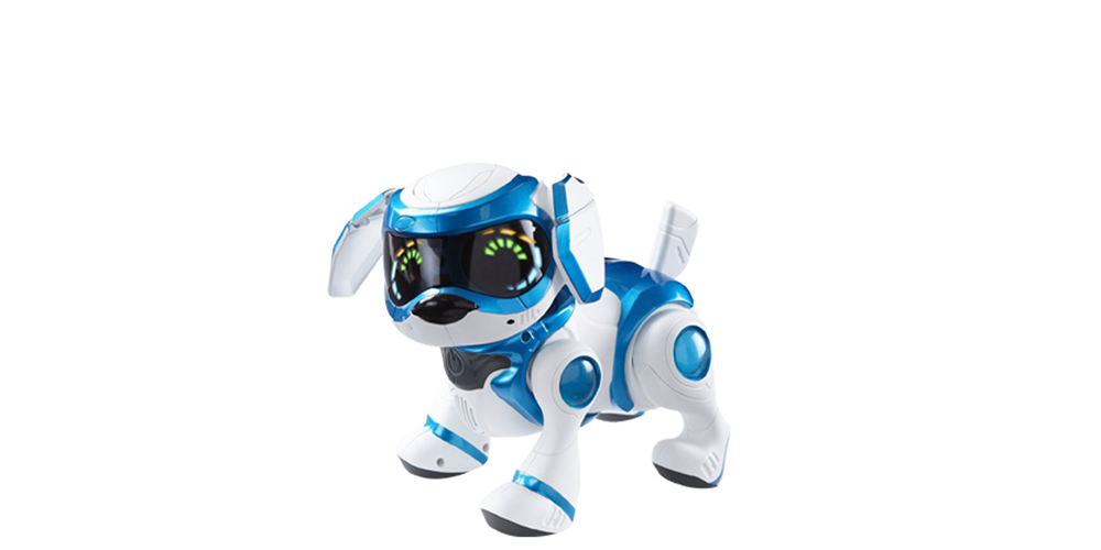 Teksta-robot dog