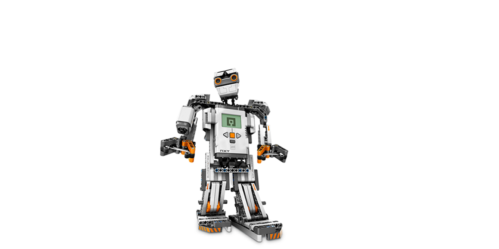 Self-assembly robot-Lego-B8527-Mindstorms-NXT