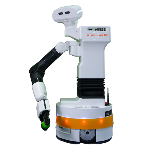 Tiago service robot at home Pal Robotics