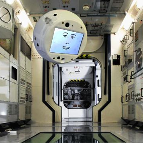 Robot CIMON gelanceerd door space XRobot CIMON gelanceerd door space X.jpg
