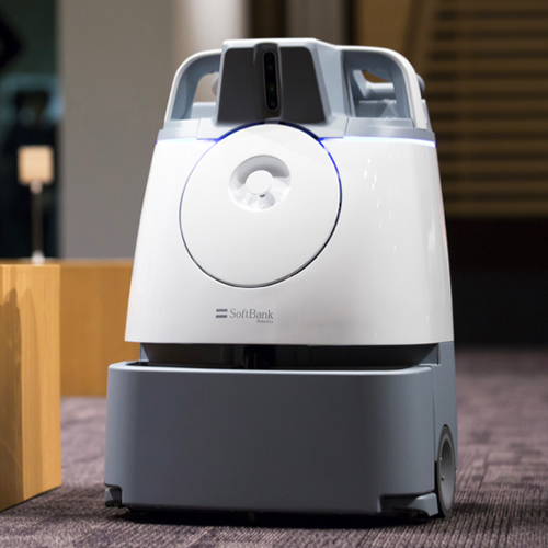 Whiz, robot, for, cleaning, floors